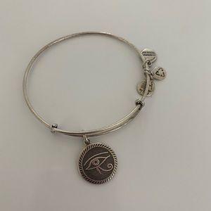Jewelry - Alex and Ani Eye of Horus Charm Bracelet